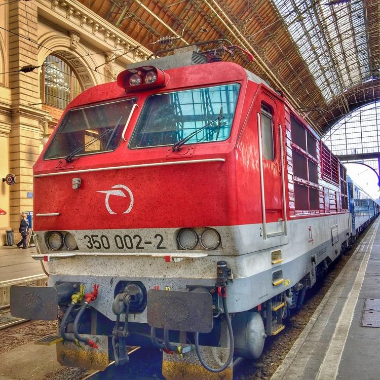 EC 273 Csárdás, Praha hl. n. - Budapešť Keleti