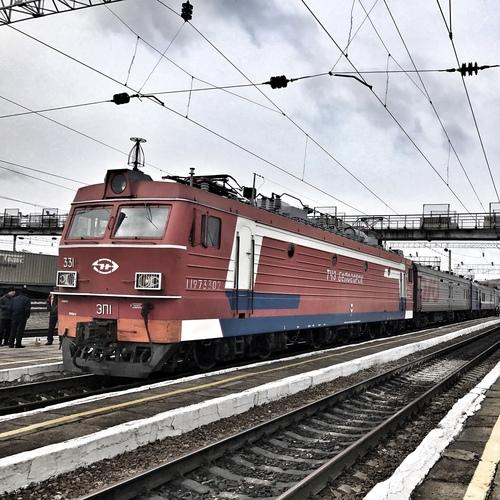002M Rossiya, Moskva Yaroslavsky - Vladivostok